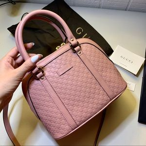 🌸NEW Gucci Micro GG Soft Pink Leather Purse